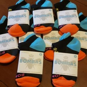 9 pairs of small size BOMBAS socks